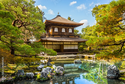 Foto op Canvas Japan Ginkakuji (Silver Pavilion), Kyoto, Japan.