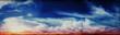 Leinwandbild Motiv Colorful sky and sunrise