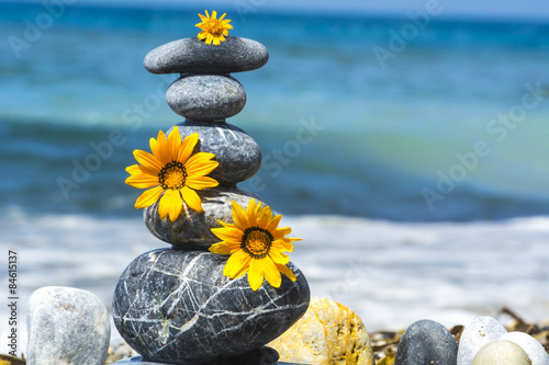 Plakát Yaratıcı tasarımlar & zen taşları