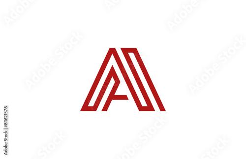 Letter A Logo Vector Alphabet Design Element Template ABC Conce