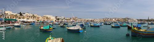 Photo Stands Europa Port de Marsaxlokk et ses Luzzus