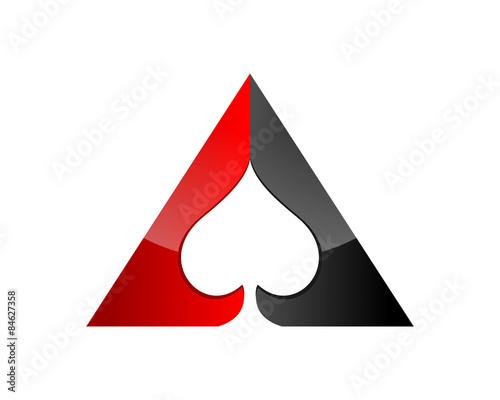 Photo  Poker Spade Ace