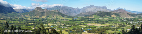 Photo Stands Olive Views from Franschhoek Pass