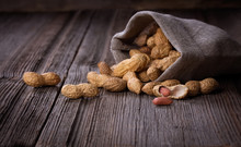 Peanuts In A Miniature Burlap ...