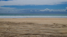 Landscape Of Ocean Seaside Wit...