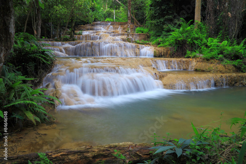 Fototapety, obrazy: Waterfall in Thamphatai National Park , Thailand