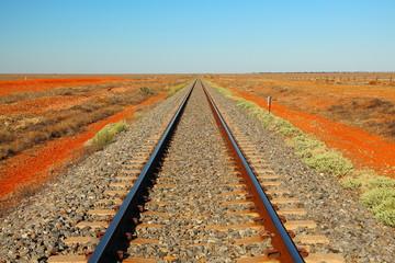 Željeznica preko pustinje