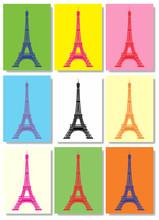 La Tour Eiffel Pop Art