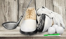 Golf, Golf Shoe, Equipment.