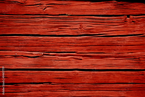 Typical Swedish Falun Red Color Very Por In Sweden And Is Used To Paint