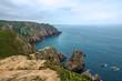 Ocean beach view, Cabo da Roca, Portugal