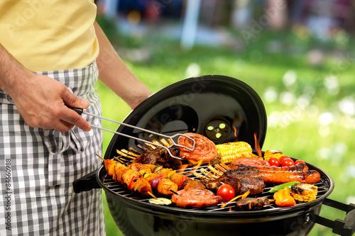 Aluminium Prints Grill / Barbecue Barbecue grill