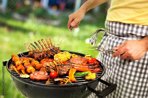 In de dag Grill / Barbecue Barbecue grill