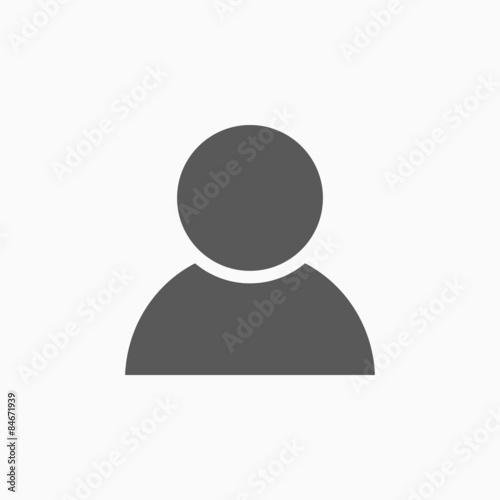 Fotografie, Obraz  person icon