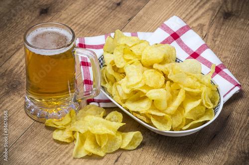Fotografía  Cerveza y aperitivo