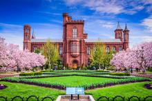 Smithsonian Building In Washin...