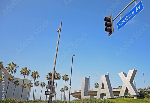Foto op Aluminium Luchthaven Los Angeles International Airport (LAX)