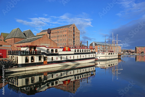 Photo  Gloucester Docks