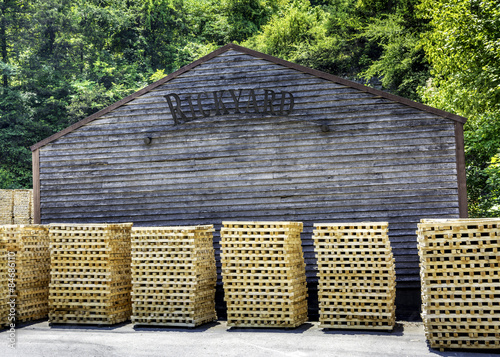 Photo  small sticks of wood in piles