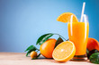 orange juice for summer refreshment
