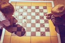 Little Boys Children Playing C...