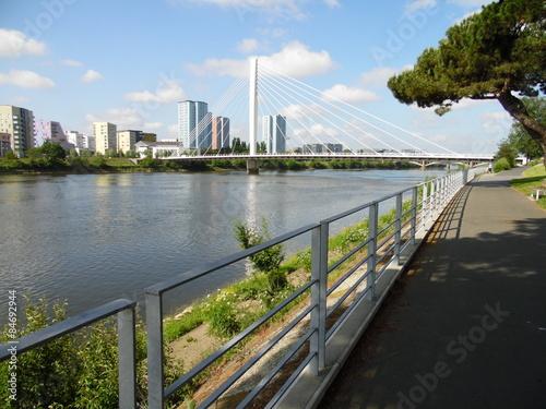 Keuken foto achterwand Route 66 Nantes - Le pont Eric Tabarly