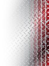 Grunge Red Tire Brochure Background