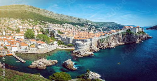 In de dag Mediterraans Europa Dubrovnik panorama