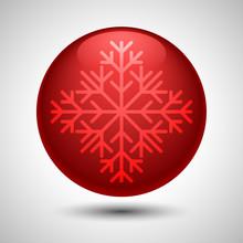 Snowflake Symbol. Editable Vec...