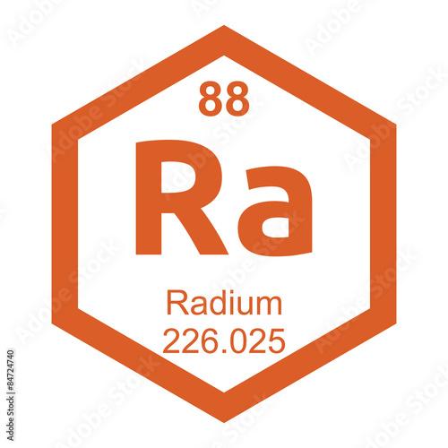 Periodic Table Radium Buy This Stock Vector And Explore Similar