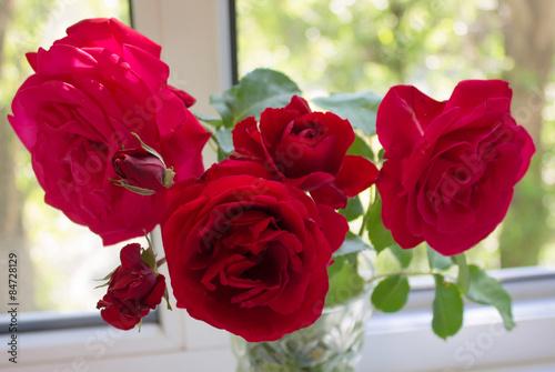 Fotografie, Obraz  Red Roses.