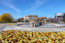 Kosciuszko Square In Gdynia  -...