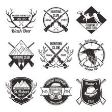 Vintage Hunting Labels Set