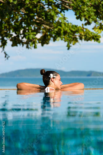 Photo  Relaxing summer vacation in Thailand