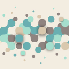 FototapetaIllustration of abstract texture with squares.