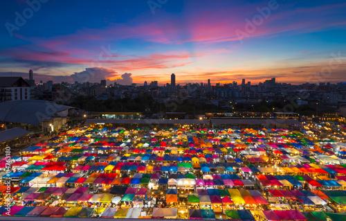 Bangkok tent Poster