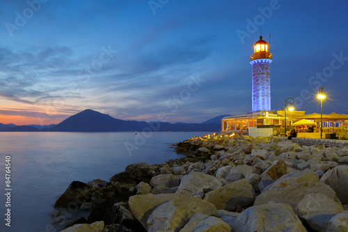 Papiers peints Phare Lighthouse in Patras, Greece.