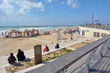 Tel Aviv Promenade In Tel Aviv...