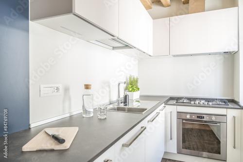Fotografie, Obraz  cucina bianca