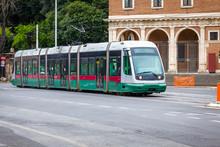 011122 Tram In Rome