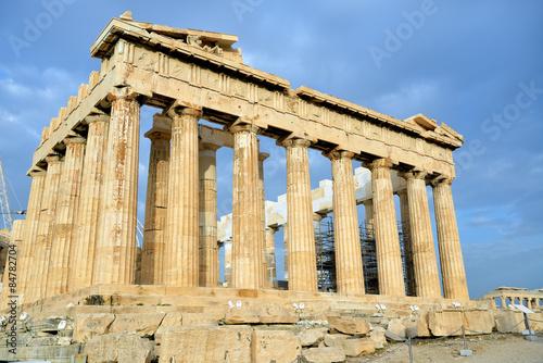Staande foto Athene Parthenon on the Acropolis in Athens