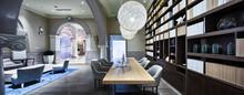 Luxury Lobby In Modern Hotel