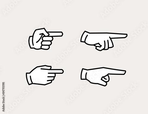 Foto  Handsymbole zeigen