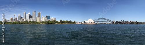 Panorama-Aufnahme von der Downtown von Sydney