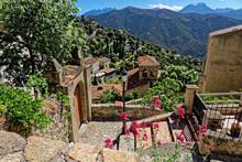 Das Dorf Lama Auf Korsika
