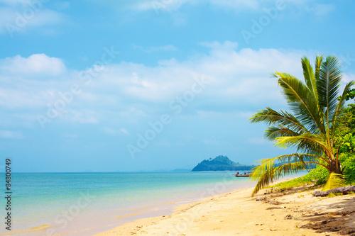 Spoed Foto op Canvas Oceanië Tropical Beach