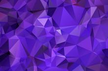 Polygonal Triangular Background