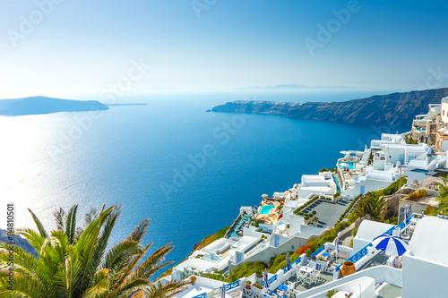 Fototapeta Santorini, Cyklady obraz