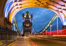 Bridge Tower Night View