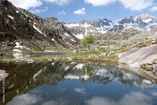 Fényképezés Cornisello lake, Adamello Brenta